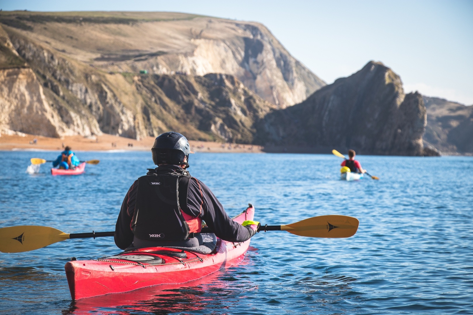 Come and explore the Dorset coastline during a social distancing paddling experience