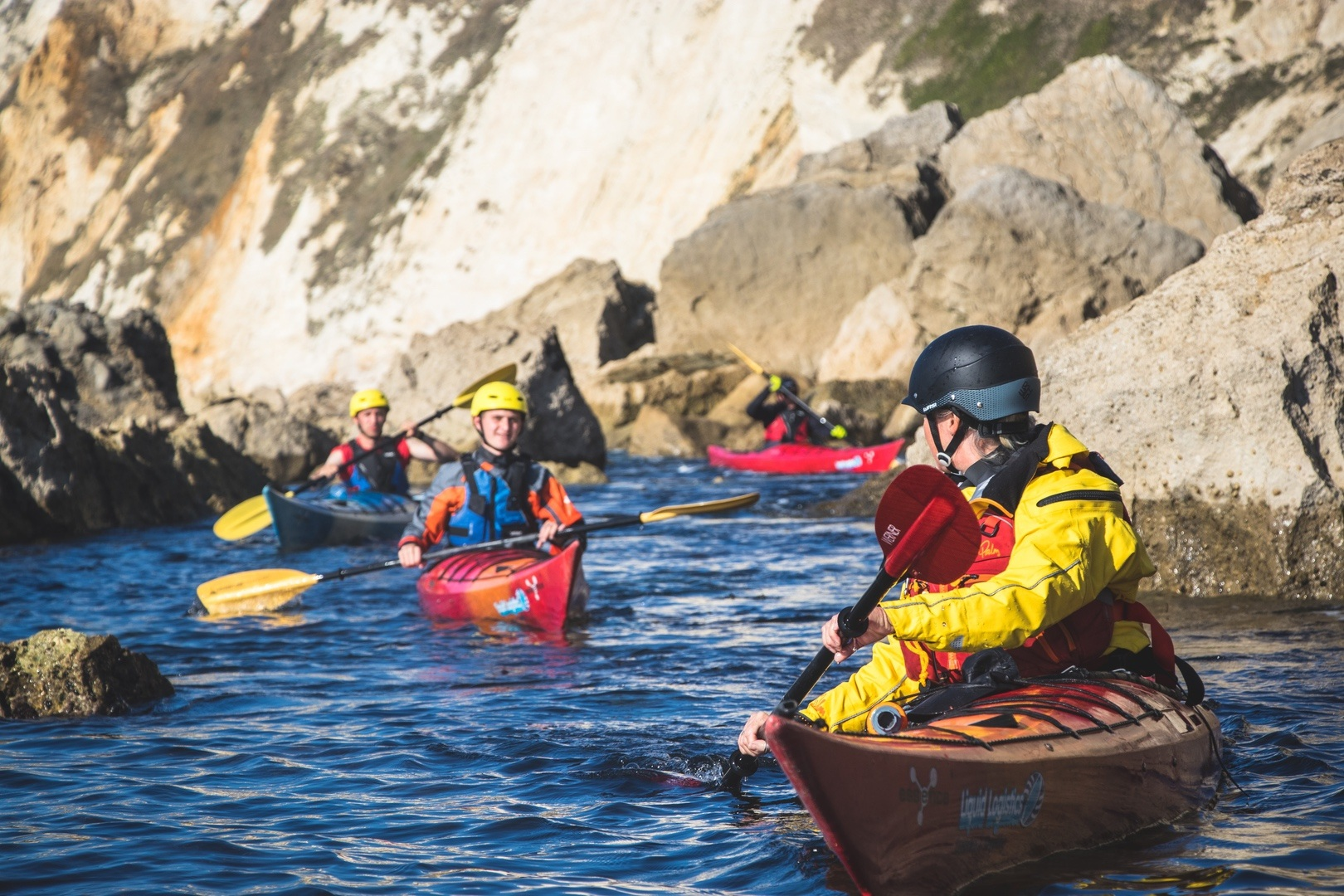 Private coaching offers you a one-to-one social distancing paddling experience
