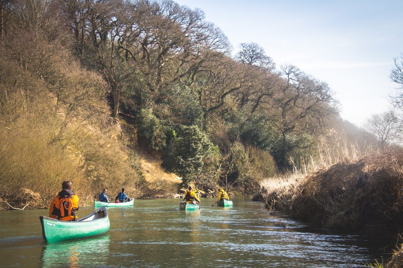 Where to kayak in the UK