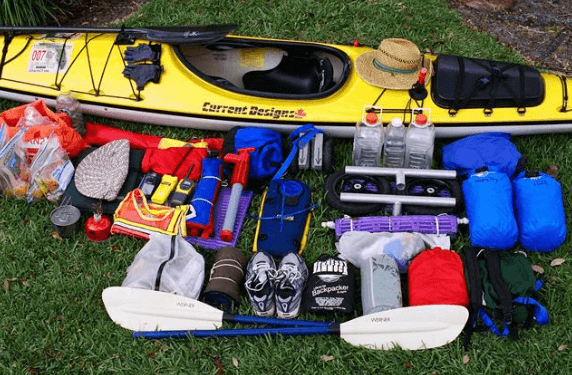 What to take kayaking